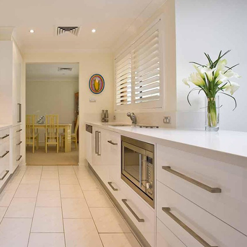 Kitchen Renovation Newcastle: A Kitchen For Two In Baulkham Hills